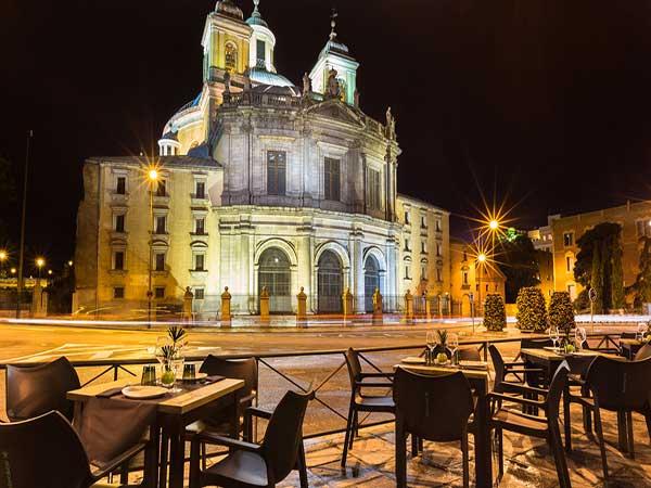 Escuela de Español La latina madrid terraza