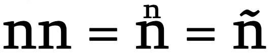 Formula letra