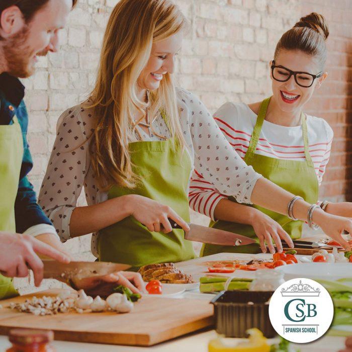 Escuela de Español Clases Cocina