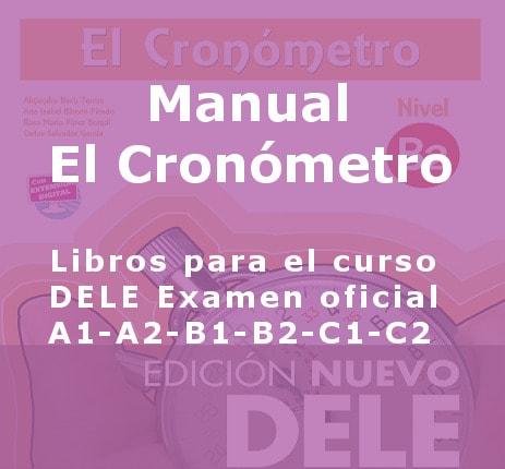 Escuela de Español libros dele el cronometro 2 min