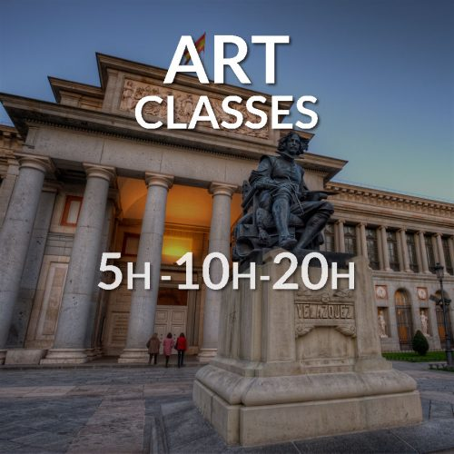 Spanish workshop. Art classes in Spanish. Learn Spanish and enjoy the culture of Spain.