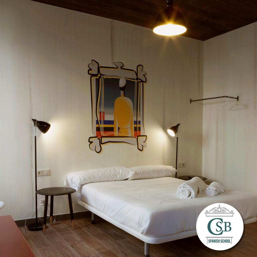 Accommodation In Madrid Accommodation In Hostel Spanish School Santa Barbara