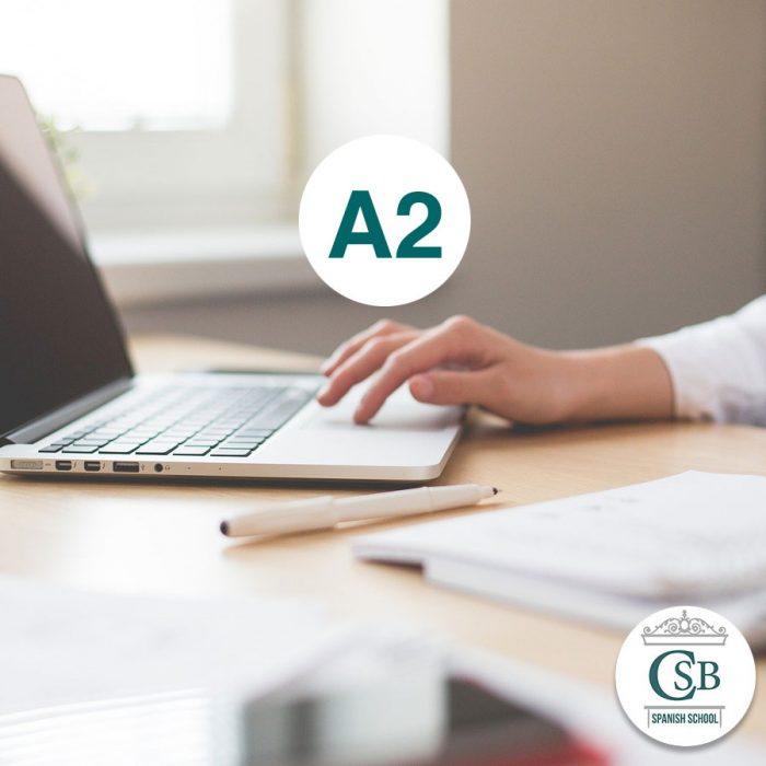 Escuela de Español curso online a2