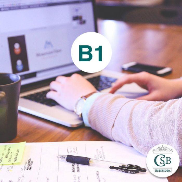 Escuela de Español curso online b1 1