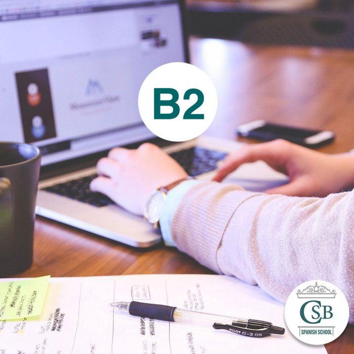 Escuela de Español curso online b2 1