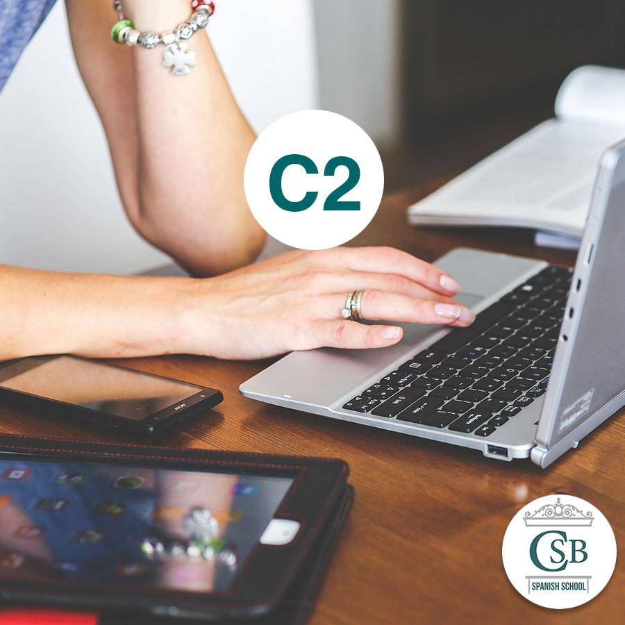 Escuela de Español curso online c2 1